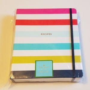 Brand new Kate Spade Recipe Spiral Notebook. Super